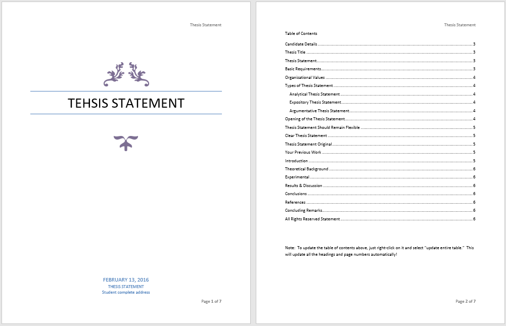 Dissertation microsoft publisher