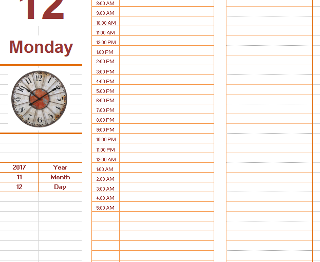 Daily To Do Task List Template