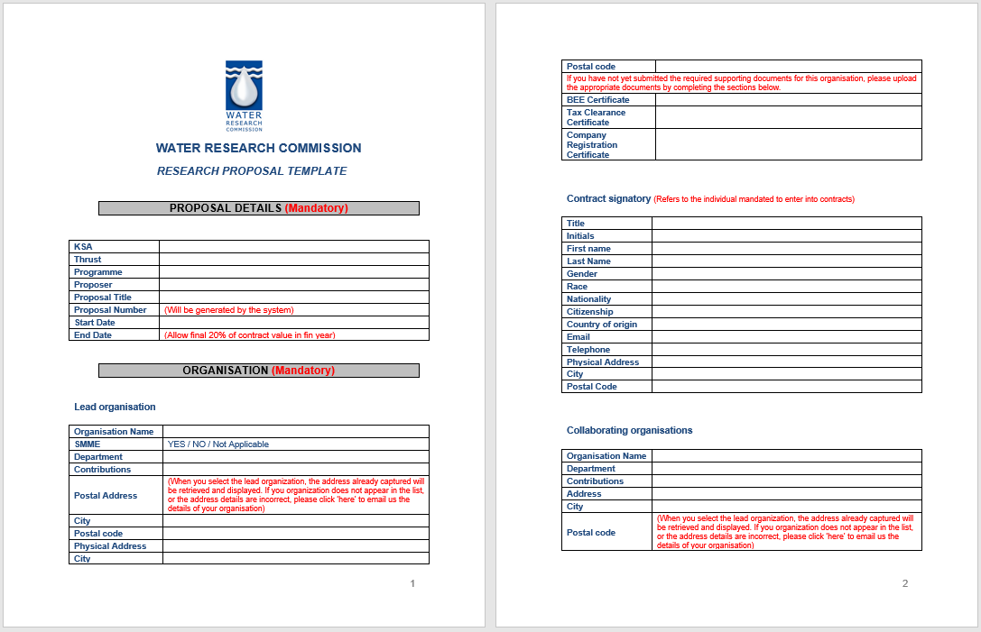 business proposal template 03