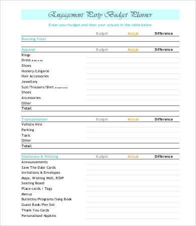 It is a picture of Party Plan Template inside party planning guest list