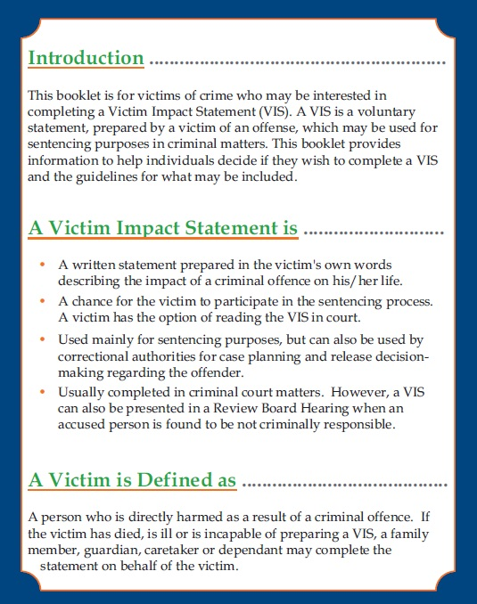 Victim-Impact-Statement-Template-12 Victim Letter To Judge Template on sample character reference, for formal, medical opinion, for leniency, jail time, example free, for sentencing character reference,