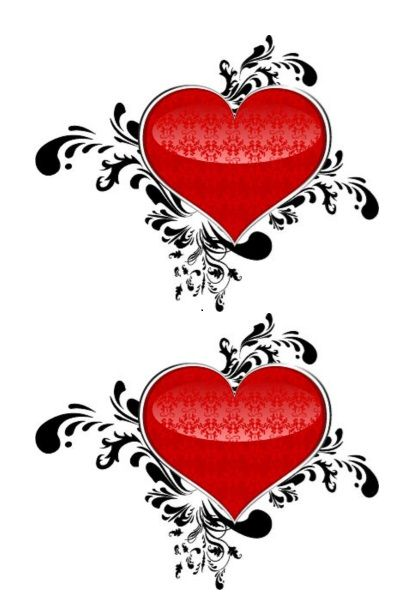 Printable Heart Shape Template 11