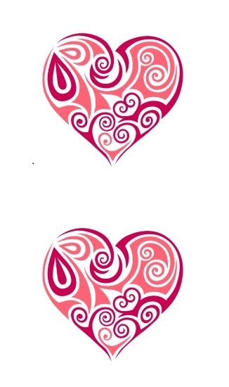 Printable Heart Shape Template 14