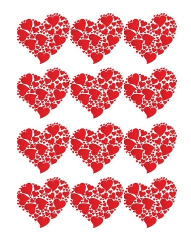Printable Heart Shape Template 16