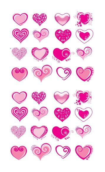 Printable Heart Shape Template 17