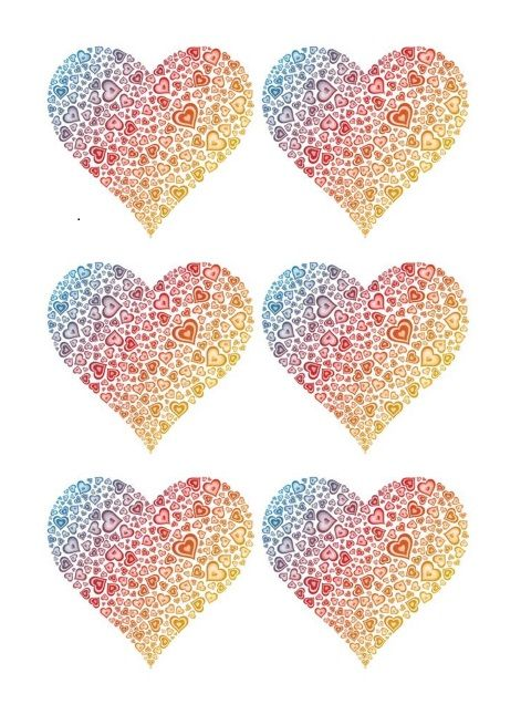 Printable Heart Shape Template 18