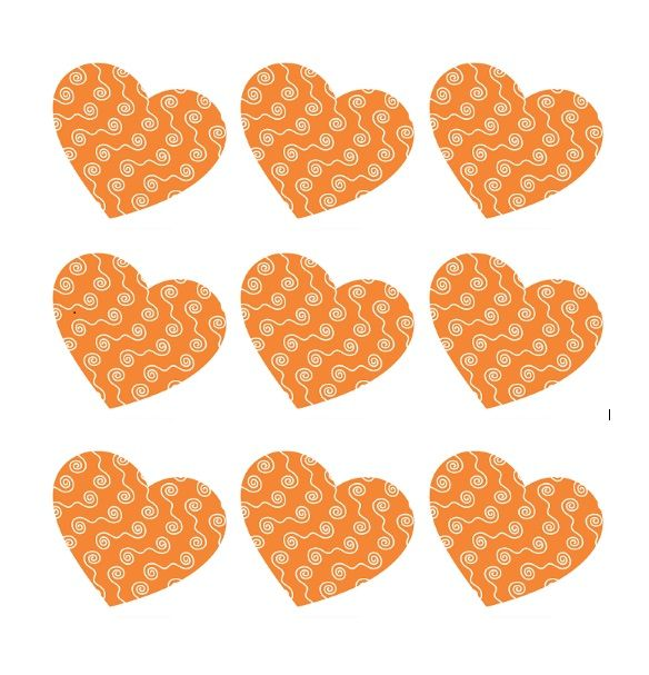 Printable Heart Shape Template 20