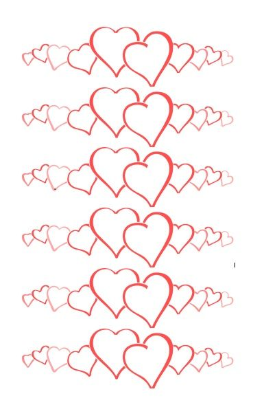 Printable Heart Shape Template 22