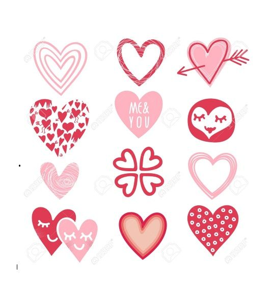 Printable Heart Shape Template 26