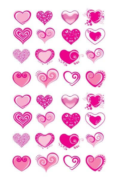 Printable Heart Shape Template 29