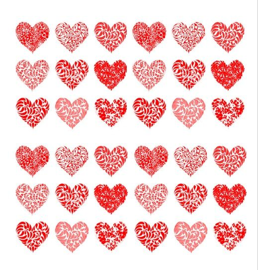 Printable Heart Shape Template 31
