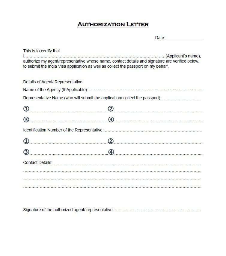 Sample Authorization Letter 07