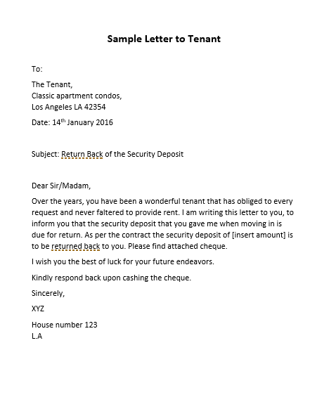 Sample Letter To Increase Rent from www.msofficedocs.com