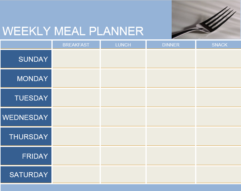 Meal Planner Template 02