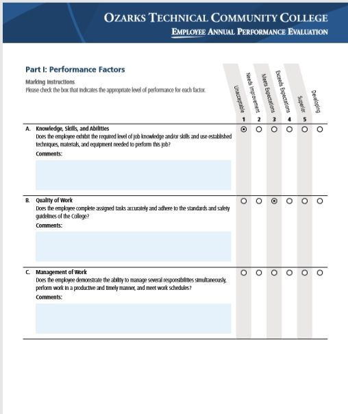 Employee Evaluation Form 32