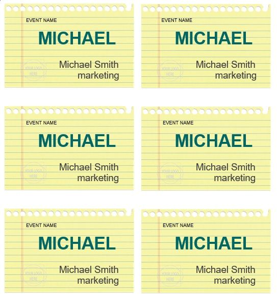 name tag template 015