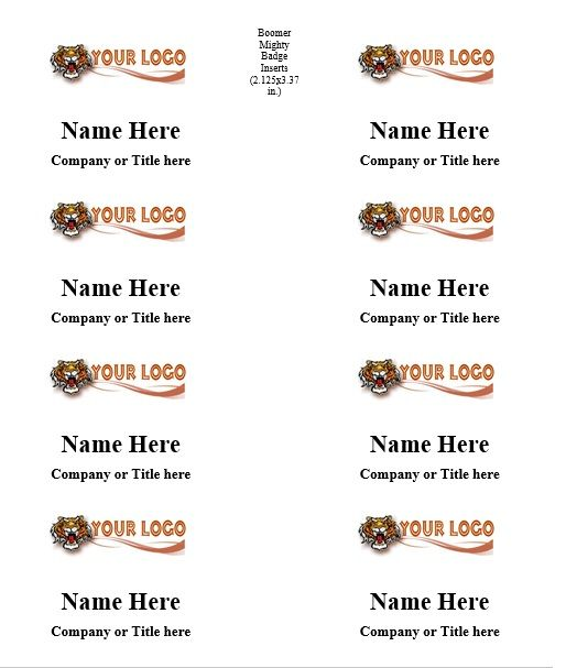 name tag template 023