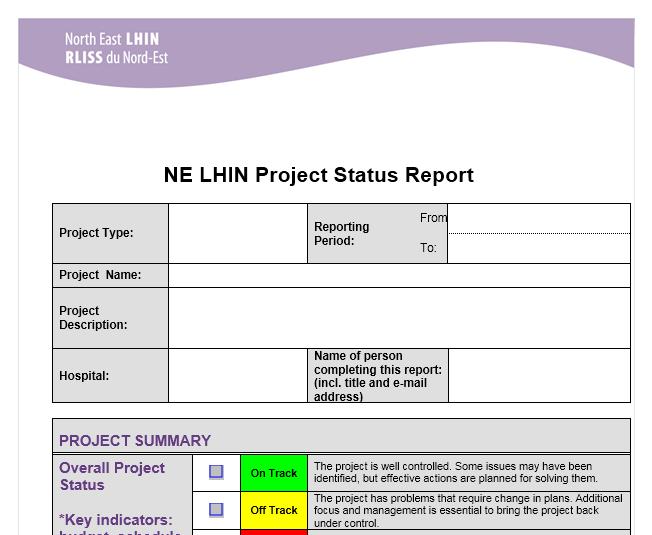 status report template 03
