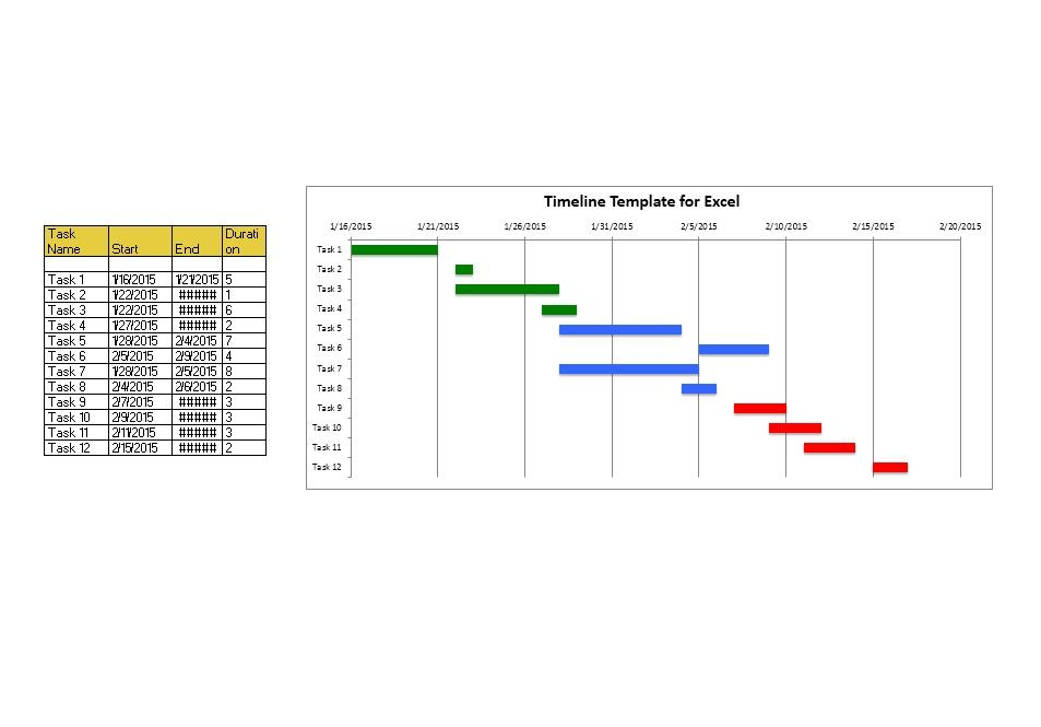 Project Timeline Template 01