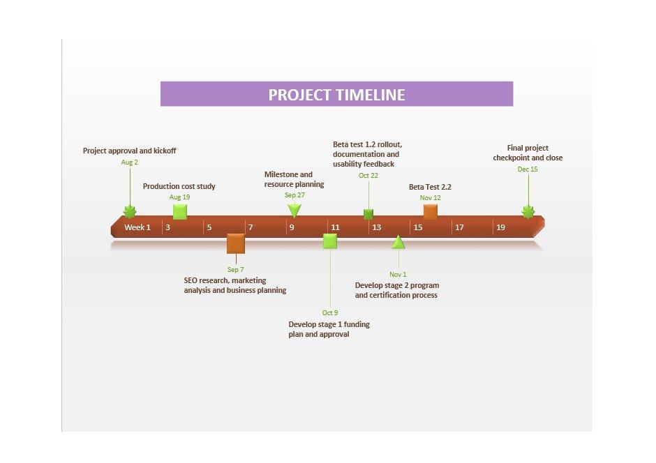 Project Timeline Template 04