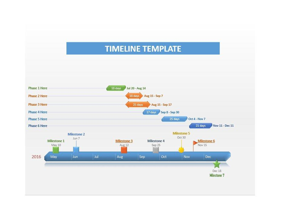 Project Timeline Template 05