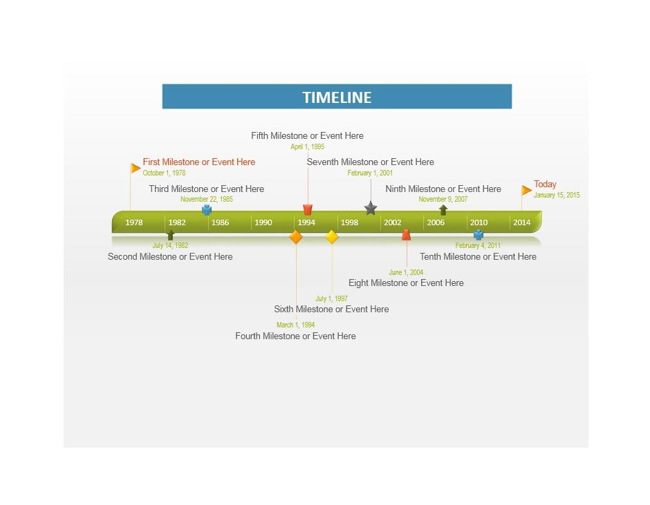 Project Timeline Template 06