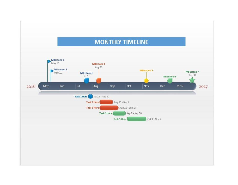 Project Timeline Template 07
