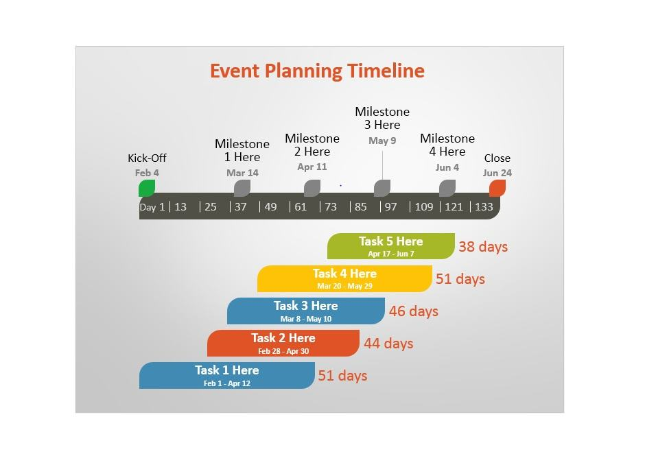 Project Timeline Template 14