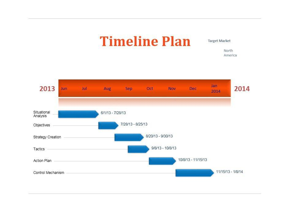 Project Timeline Template 16