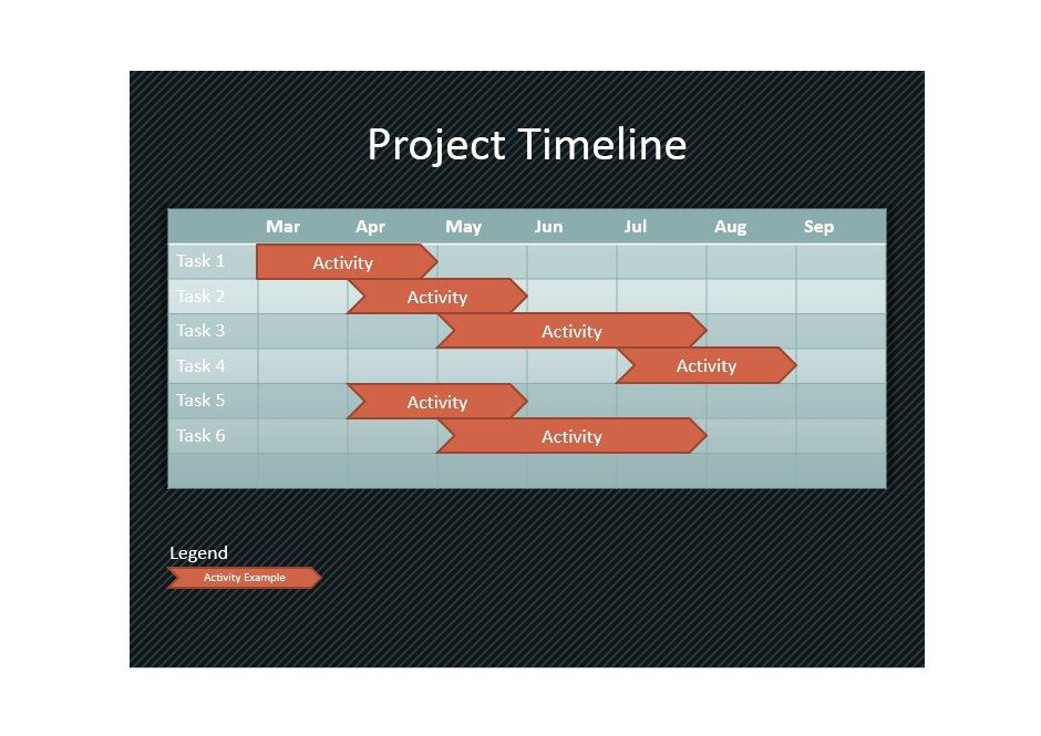 Project Timeline Template 19
