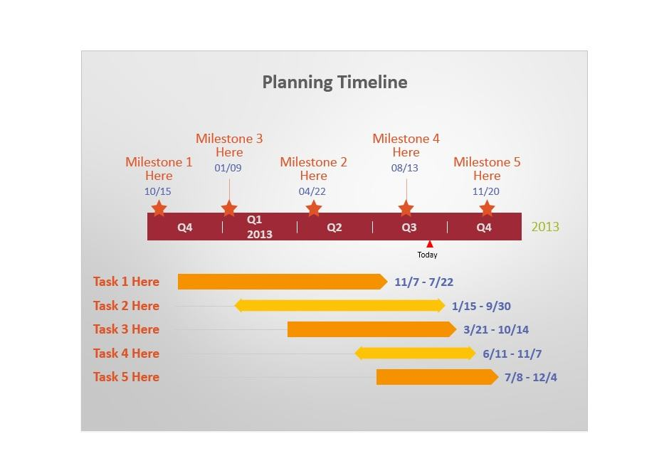 Project Timeline Template 20