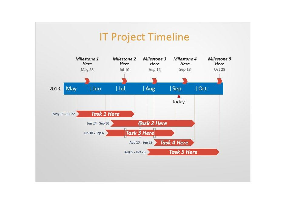 Project Timeline Template 22