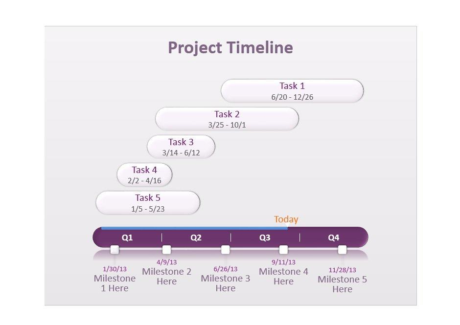 Project Timeline Template 23