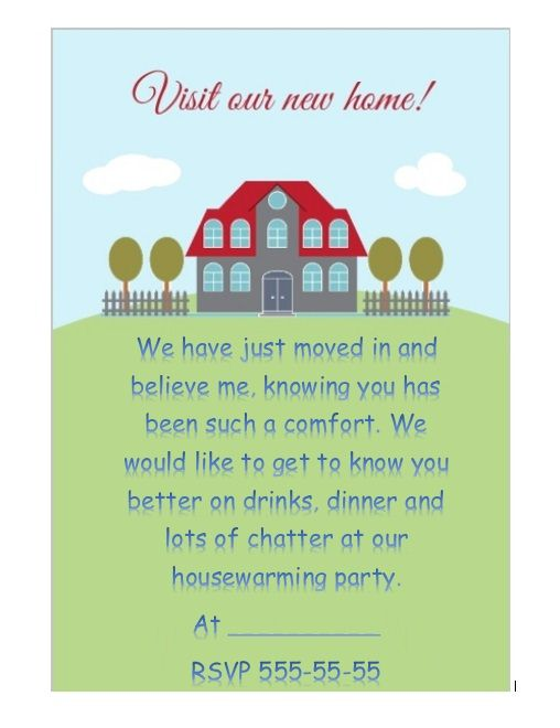 Housewaming Invitation Template 08