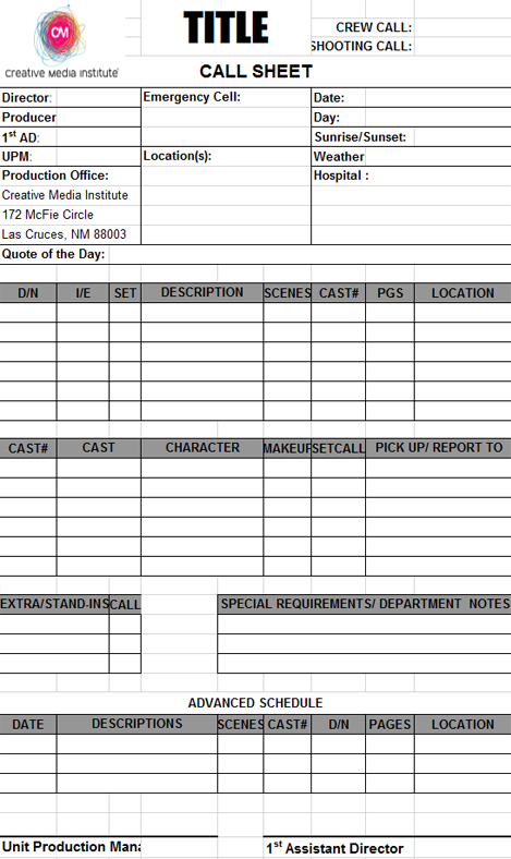 call log template 05